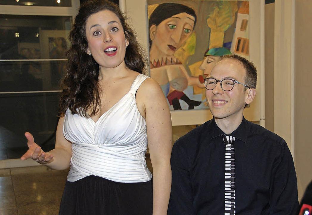 Maria Ponsati und Samuel Scott  | Foto: Andrea Steinhart