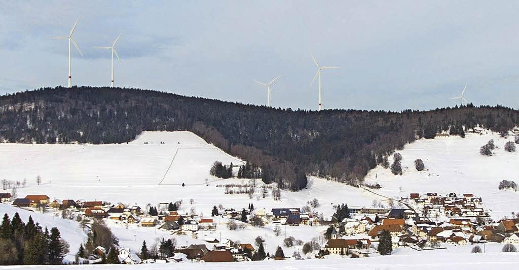 Absage für Windkraft-Planungen im Bereich Gersbach-Süd - Schopfheim - Badische Zeitung