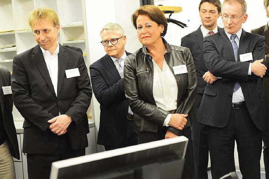 """Das Motto lautet: """"WRF trifft Badische Zeitung"""" (Foto: Rita Eggstein)"""