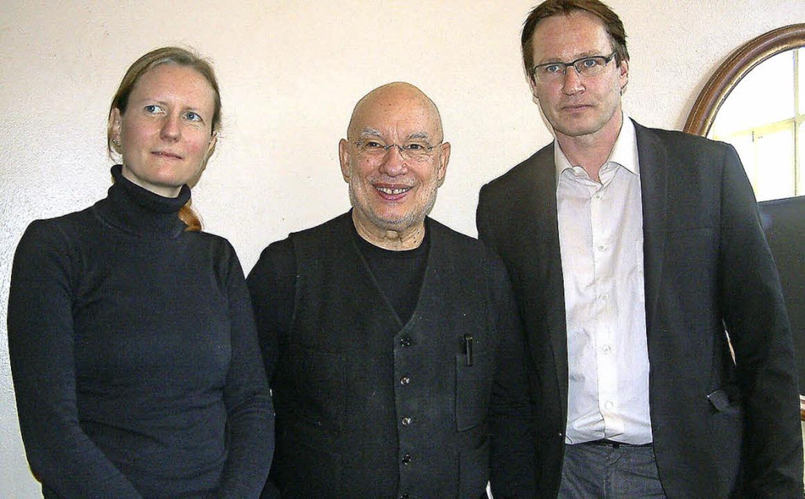 <Text>Kooperieren: Kristina Danwerth v...s) vom Sinfonieorchester Basel</Text>   | Foto: Frey