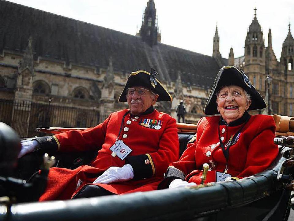 Die Briten wollen nicht gerne mit den ...ng an Deutschland im Ersten Weltkrieg.  | Foto: dpa