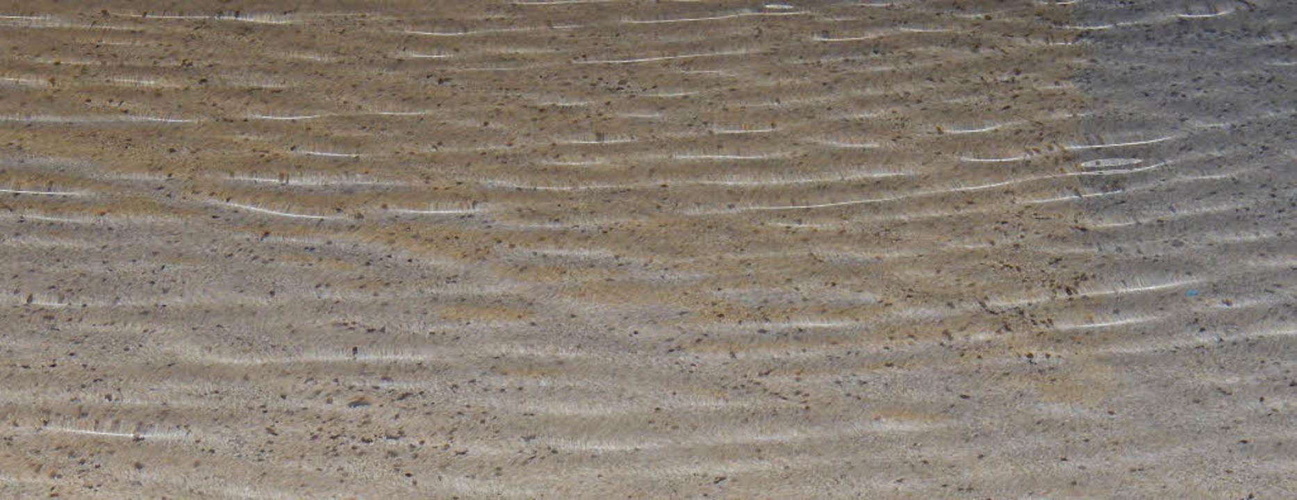 Hier muss das Wasser durch: Im Jurakie...sserleitungen zu schnell kaputt gehen.  | Foto: Sylvia Timm