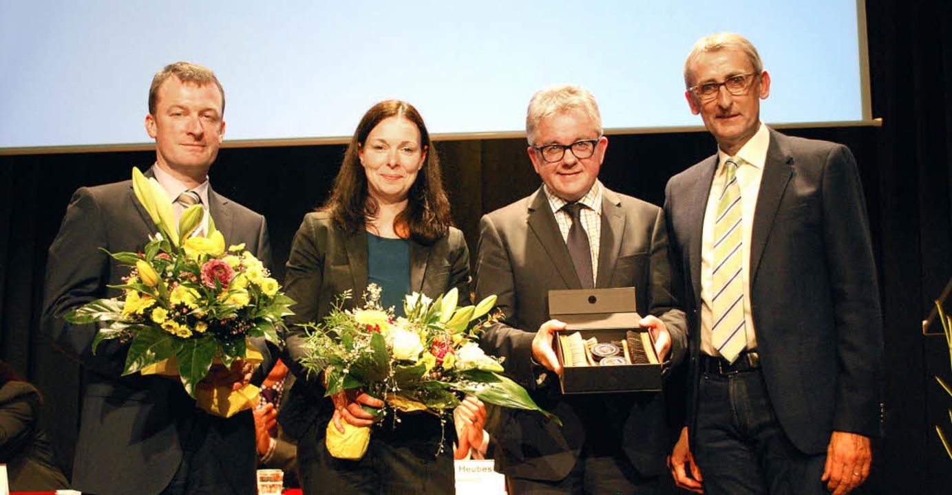 Wahlkreiskandidat Ulrich Lusche, Zweit... nach der Nominierung der Kandidaten.   | Foto: Thomas Loisl Mink