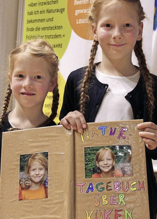 Mit ihrem Küken-Tagebuch haben Maja un...r BUND-Jugend einen 1. Preis gewonnen.  | Foto: Privat