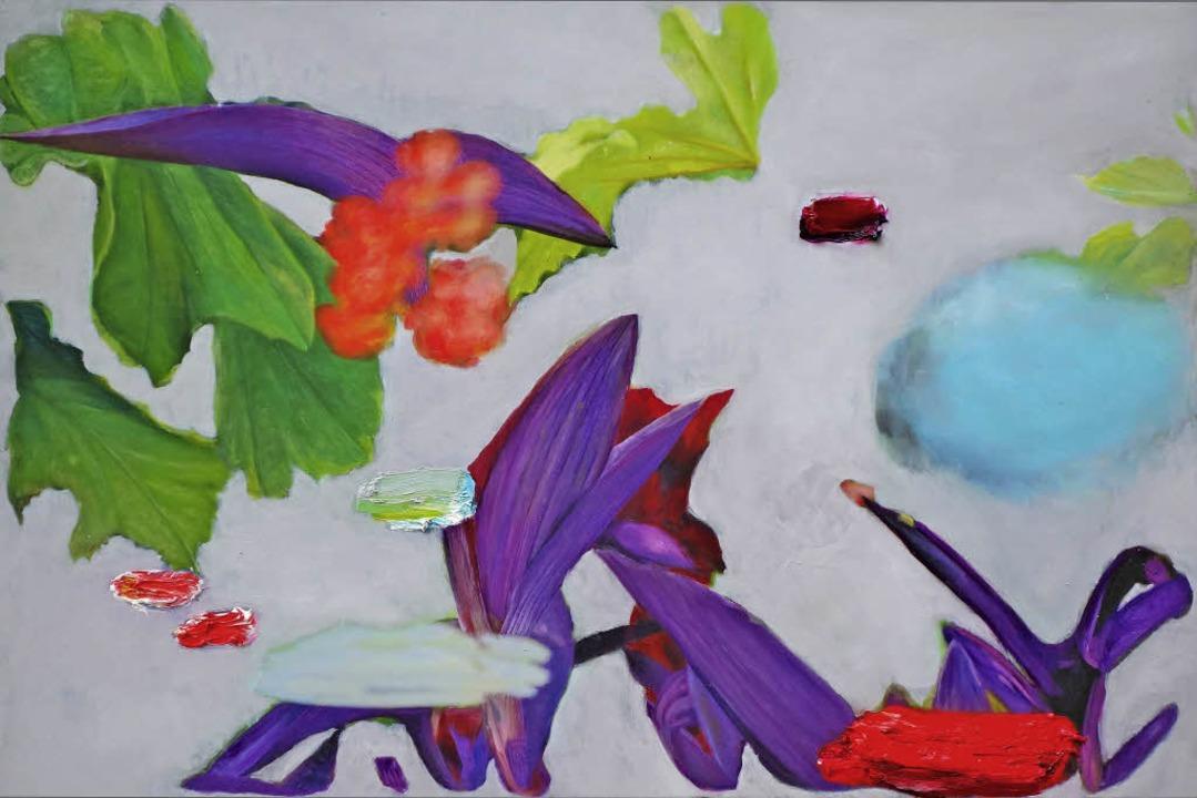 "Eva Rosenstiel: ""Neues von Blume...20; (2015),  Fotografie auf Aludibond   | Foto: galerie Claeys, eva Rosenstiel"