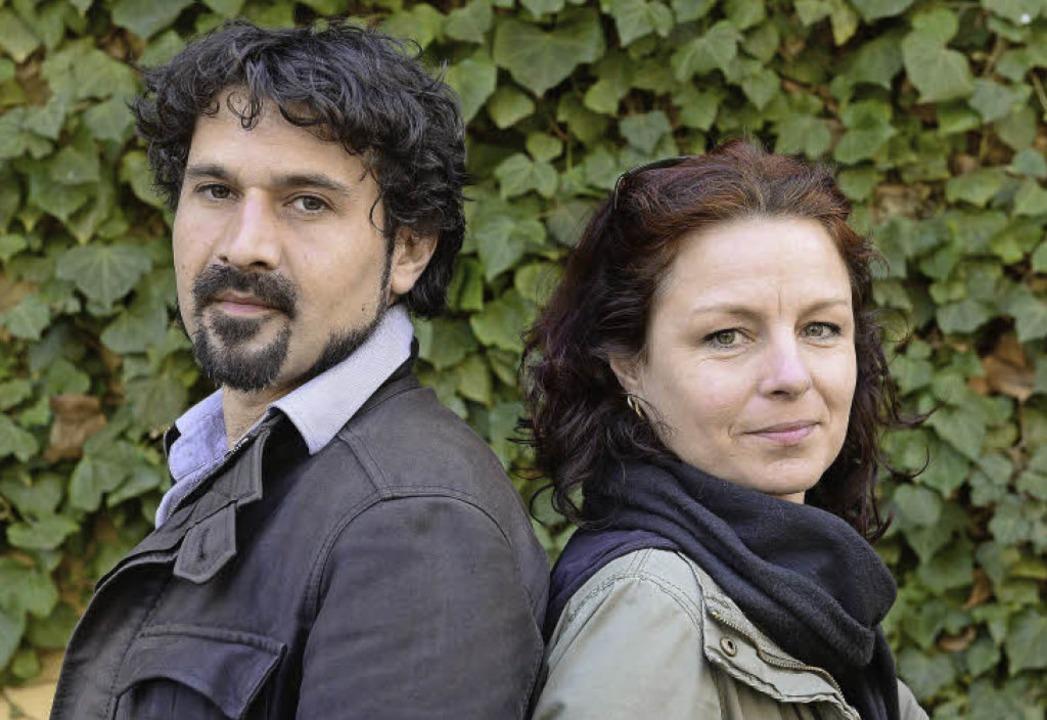 Jochen Gimmel und Karen Zamorano, die Gründer des Stadtteilvereins SAL  | Foto: Ingo Schneider