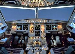 So funktioniert die Verriegelung der Cockpit-T�r im Flugzeug