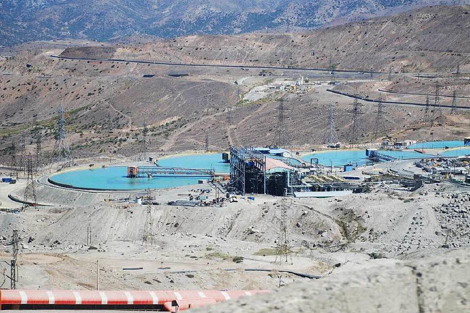 Wasserbehandlung auf dem Gelände der Kupfermine El Teniente in Chile (Foto: bkr)
