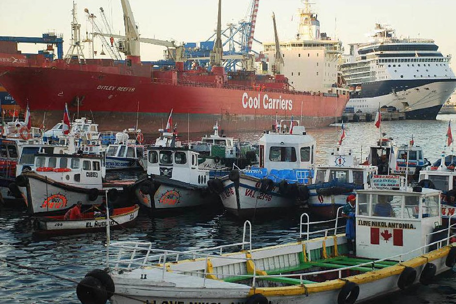 Hafen von Valparaiso (Foto: BKR)