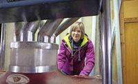 Die Landfrauen sch�tzen ihr Mehl