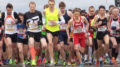 Freiburg Marathon: Der Massenstart im Video