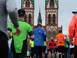 Wie war's beim Marathon? Die Perspektive einer L�uferin