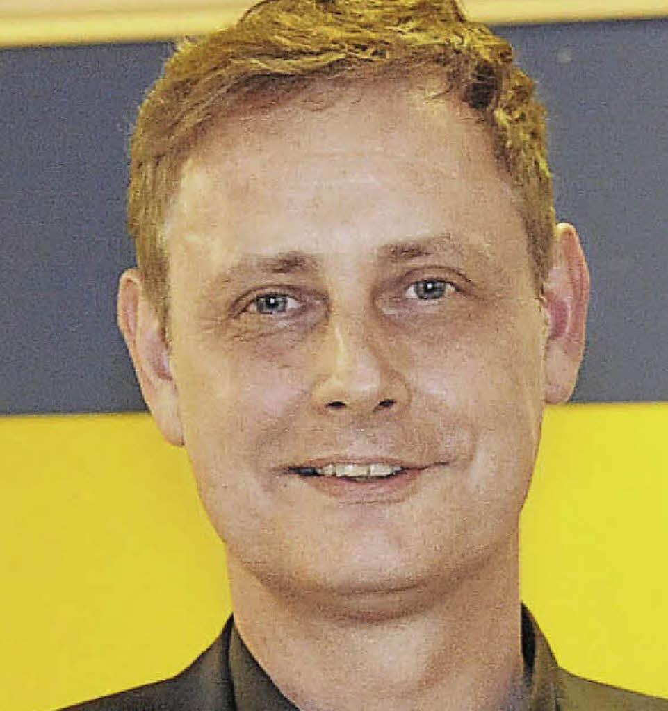 <b>Norman Schuster</b> will für die FDP in den Landtag Foto: Markus Zimmermann - 102647759