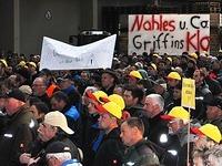 Bauern und Winzer protestieren gegen Mindestlohn