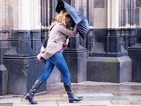 Unwetterwarnung: Orkanartige B�en im S�dwesten