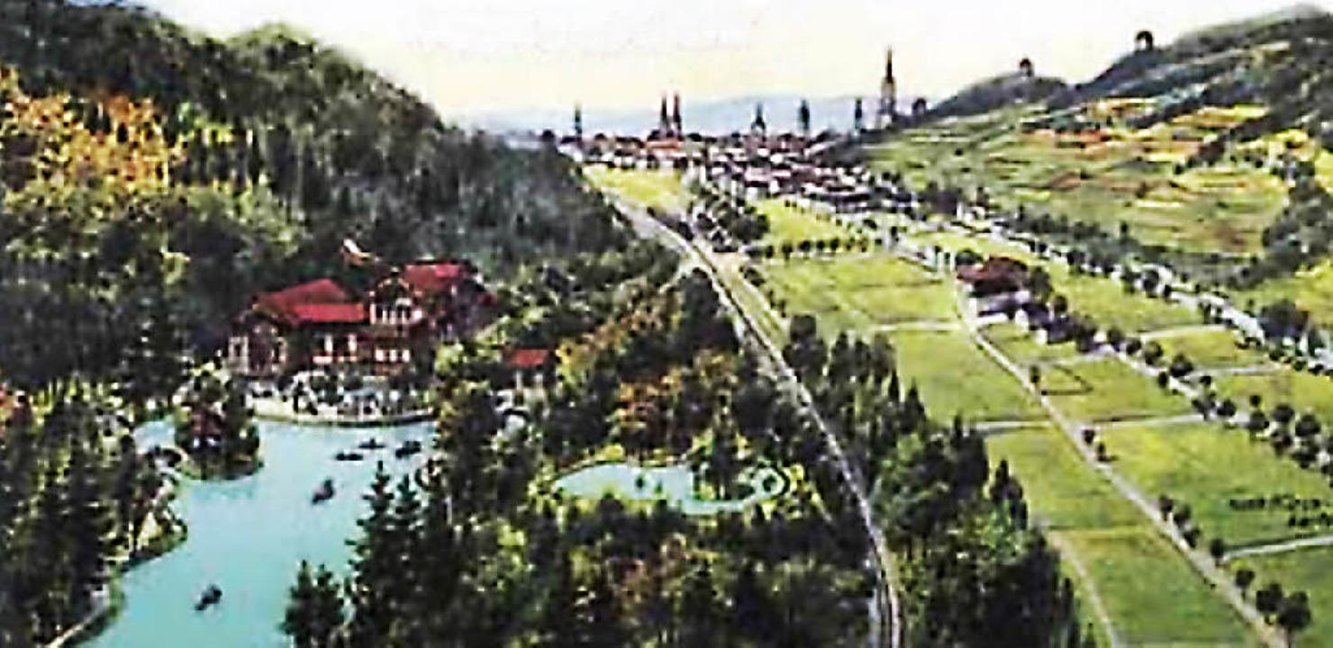 Historische Postkarte     Foto: privat