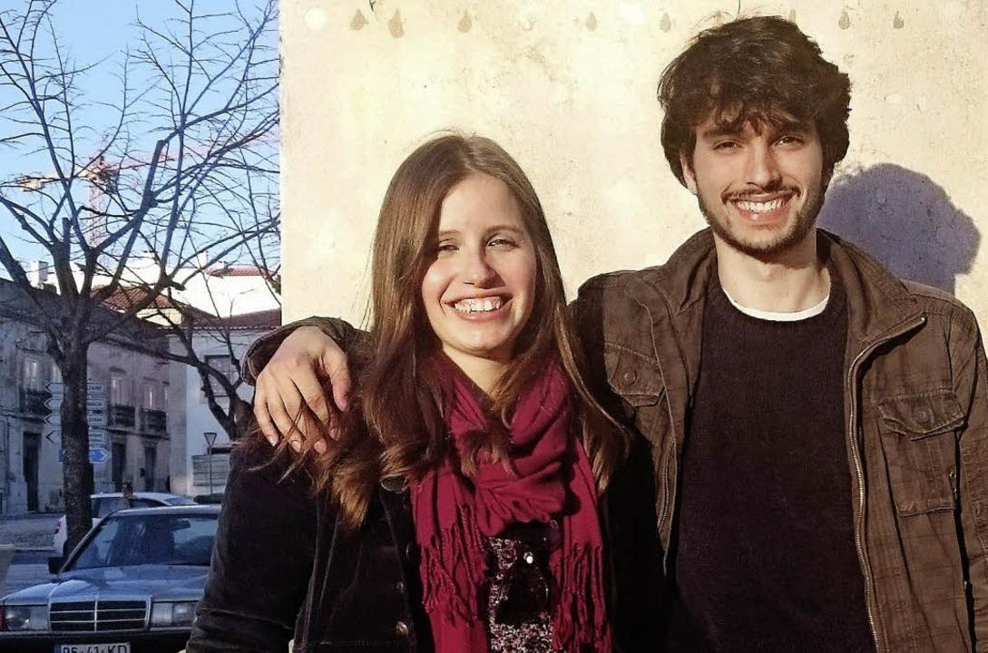Manuel Xavier, hoch spezialisierter Physiker, mit seiner Freundin Rita Pereira  | Foto: Andreas Strepenick