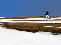 Skisaison auf dem Feldberg endet – mehr als 10 Grad