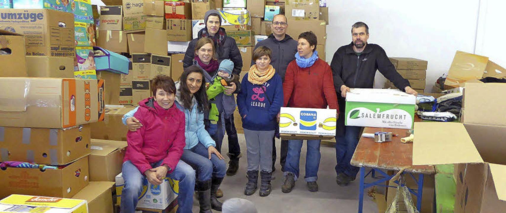 Die Katholische Junge Gemeinde Seelbac...für die Menschen in der Krisenregion.   | Foto: Privat