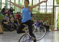 Bestleistungen im Einer-Kunstradfahren