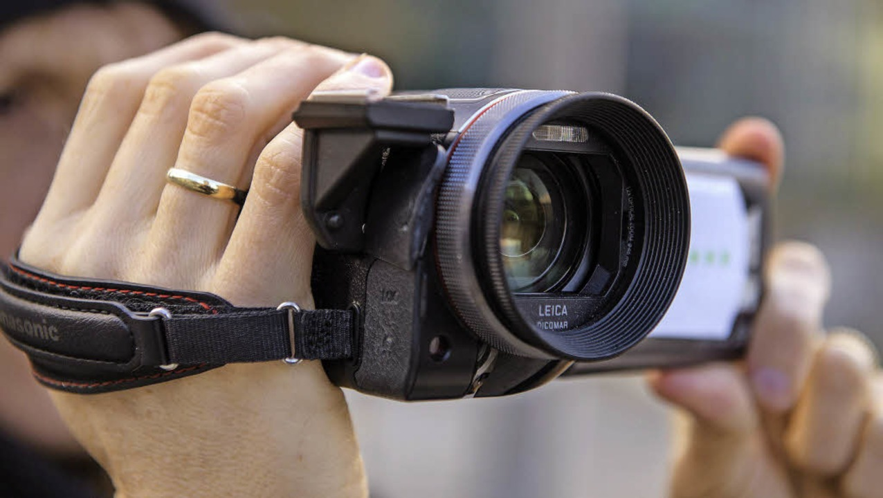 Wer eigene Filme dreht, sollte mehrere...ne aus verschiedenen Distanzen filmen.    Foto: dpa-tmn
