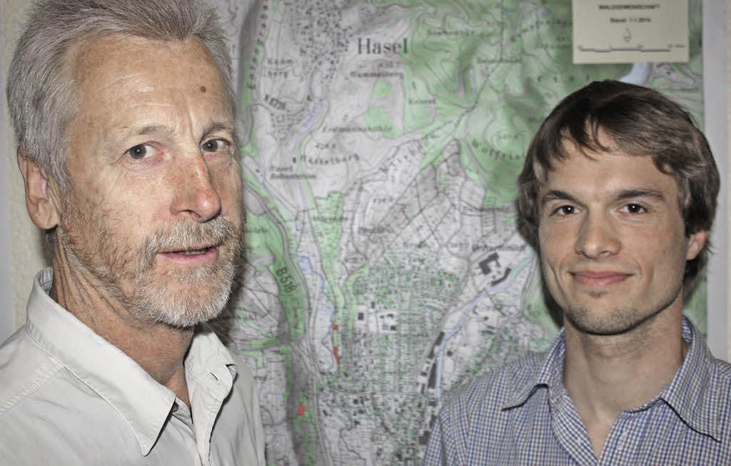 <b>...</b> und Öflingen: Reiner Hegar (links) und <b>Ingo Rothe</b> Foto: Gerd Leutenecker - 103500044