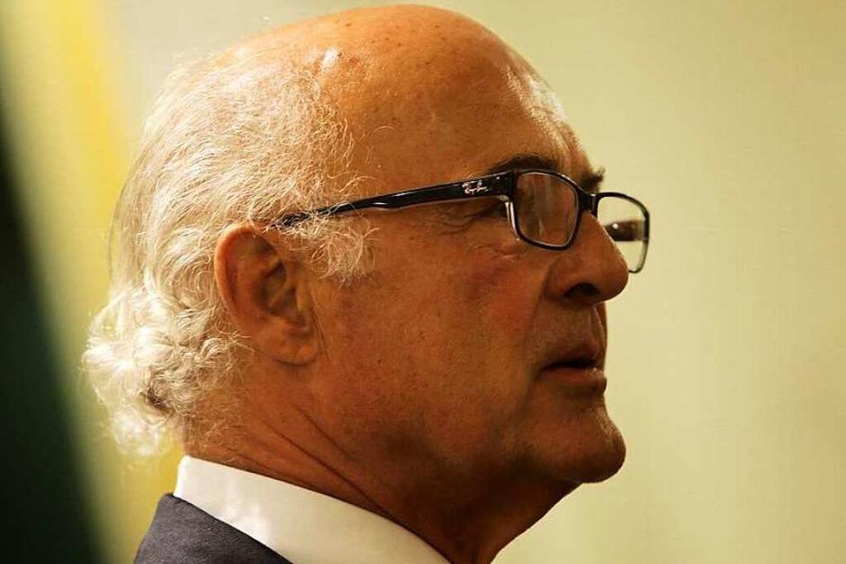 WVIB-Präsident Klaus Endress (Foto: Breithaupt)