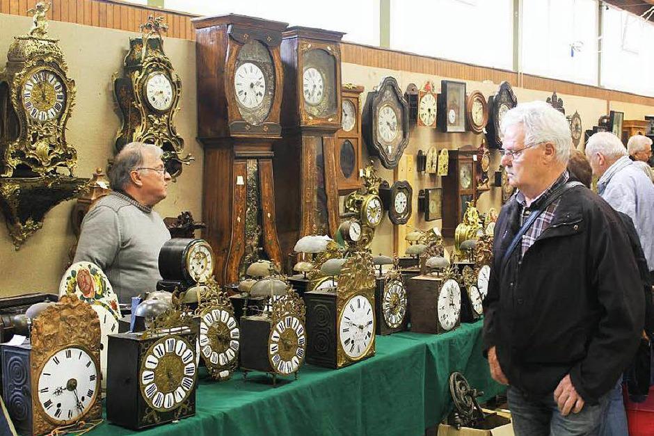 Die 18. Antik-Uhrenbörse in Eisenbach (Foto: Gert Brichta)