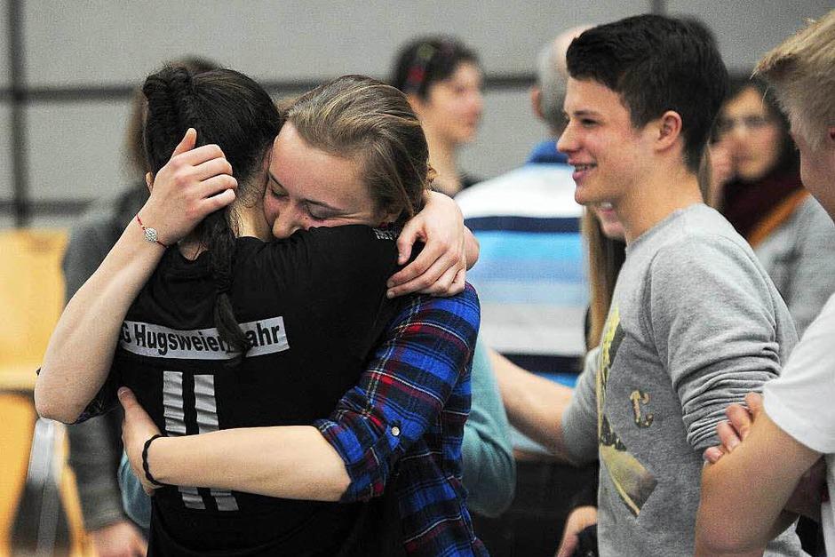 Die erfolgreichen B-Juniorinnen der SG Hugsweier/Lahr (Foto: Bettina Schaller, Bettina Schaller Presse)