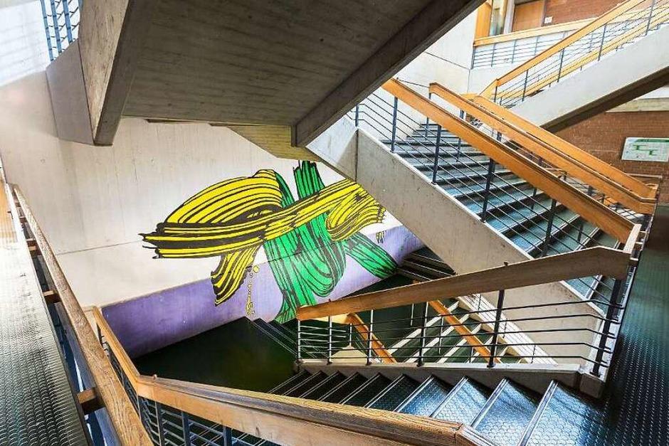 Die Staudinger-Gesamtschule in Freiburg hat Charakter. (Foto: Carlotta Huber)