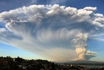 Fotos: Vulkan Calbuco in Chile ausgebrochen