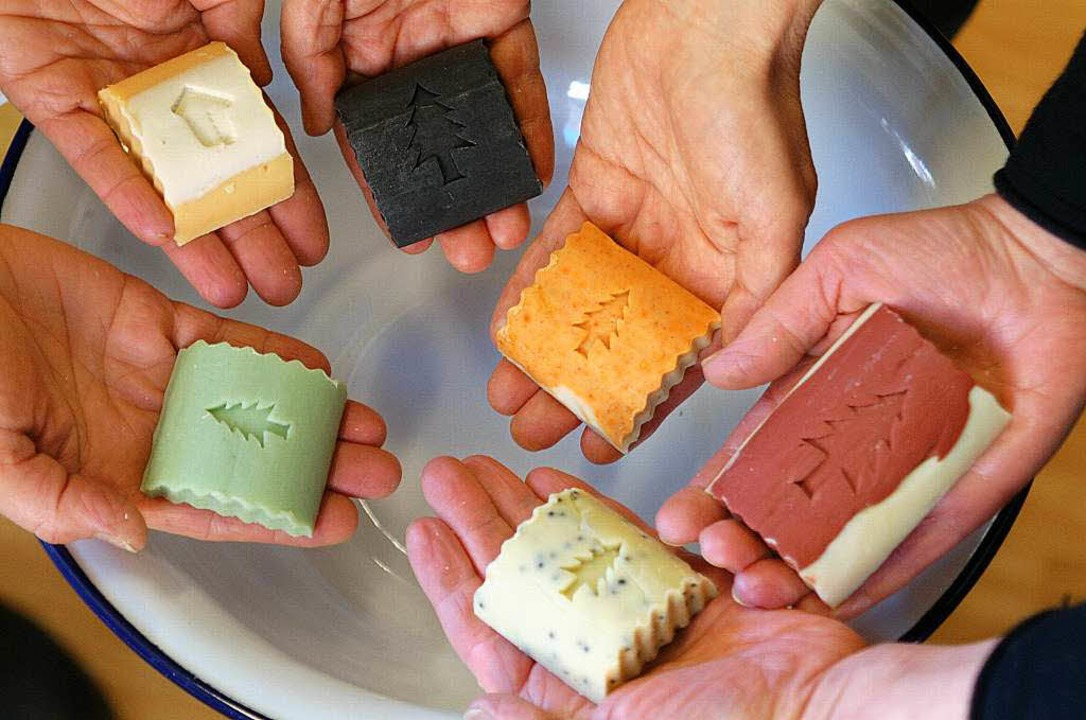 Seife aus regionalen Rohstoffen     Foto: Speckner