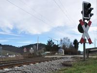 Viele Unf�lle an  Bahn�berg�ngen ohne Schranke