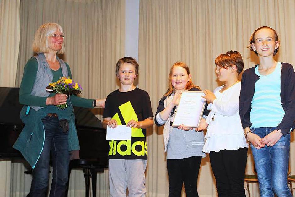 Grundschule Gresgen, Klasse 3-4, Anerkennungspreis (Foto: Anja Bertsch)
