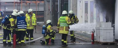 Herzklinik in Bad Krozingen l�uft nach Brand mit Notstrom