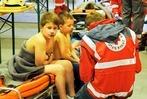 Fotos: Lahrer Feuerwehr probt im Hallenbad
