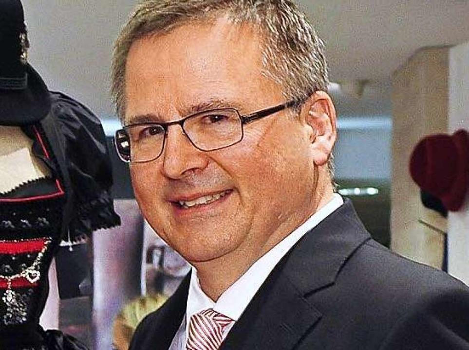Gerhard Kaiser, Geschäftsführer von Mode Kaiser.   | Foto: Thomas Kunz