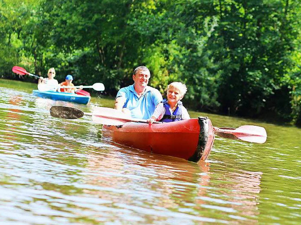 Paddeltouren im Taubergießen sind ein ...m Samstag sieben Kanus gekentert sind.  | Foto: Fotolia.com / cromary