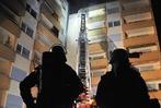 Fotos: Gro�einsatz der Feuerwehr in Offenburger Wohnblock
