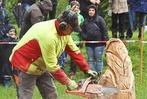Fotos: K�nstler mit der Motors�ge in Herbolzheim