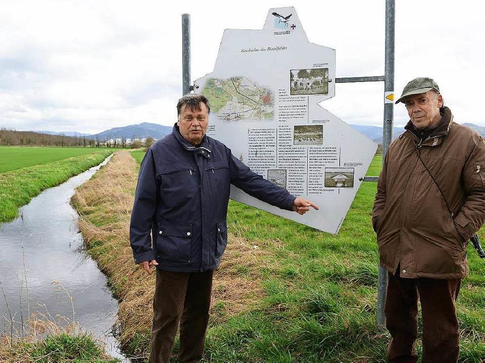 Für den Naturschutzbund ist klar: Eine Bebauung darf es nicht geben.  | Foto: Eggstein