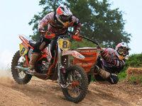 Motocross in Schopfheim: WM-Lauf der Seitenwagen-Elite