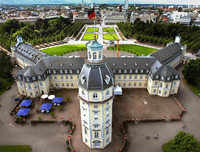 Karlsruhe ist die weltweit einzige Stadt in Form eines Fächers