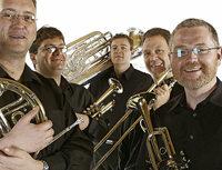 Die Bl�ser von Mannheim Brass spielen in St. Blasien