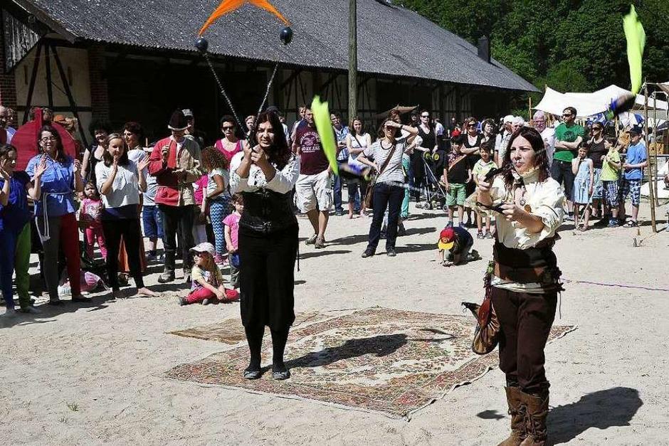 Mittelalterfest auf dem Mundenhof. (Foto: Thomas Kunz)