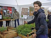 TRUZ-Wildblumenverkauf im französischen Saint Louis