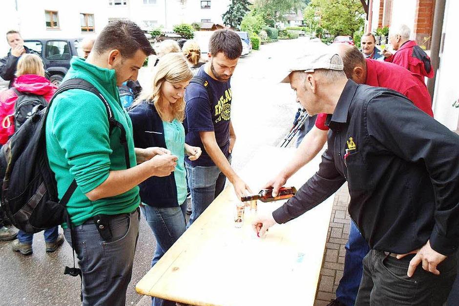 Viel Spaß hatten die Teilnehmer der Rebhisli-Tour. (Foto: Christian Ringwald)