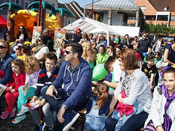Am dritten Lahrer Kindertag war die Stadt fest in Kinderhand.