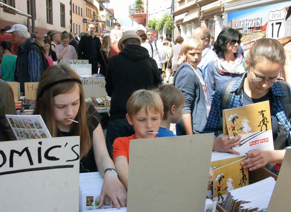 Büchermarkt in Endingen  | Foto: Ilona Huege