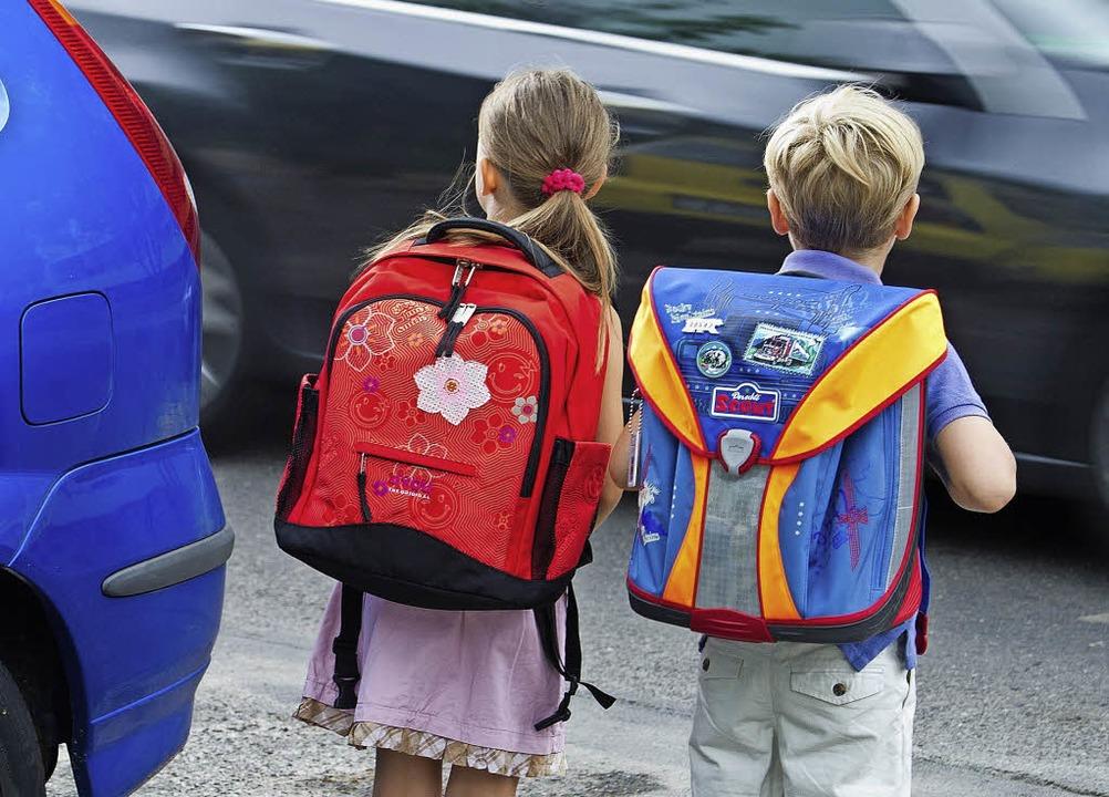 Kleine Experten: Eine Form der Bürgerb...a auf dem Schulweg,  aktiv mitmachen.   | Foto: dpa